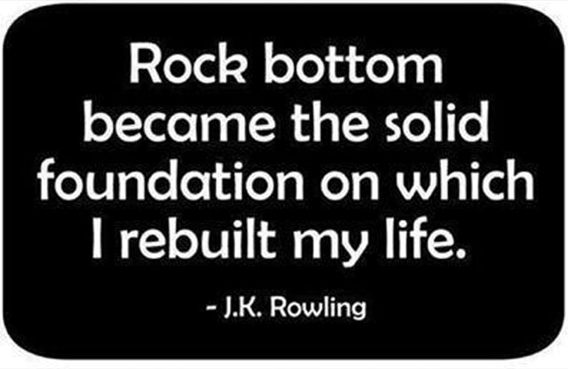 Image result for rock bottom
