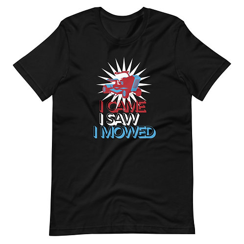 Dad the Lawn Lover Short-Sleeve Unisex T-Shirt