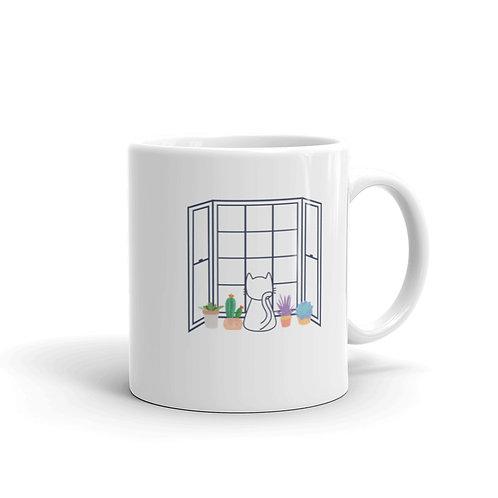 Pets in the Window Coffee Mug