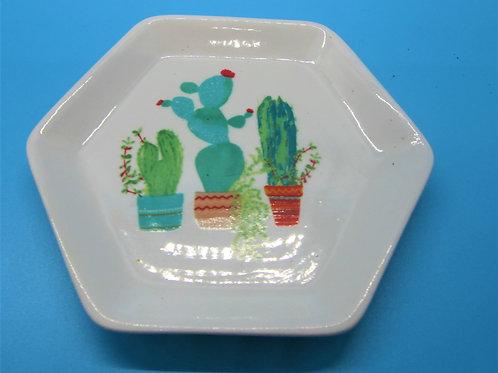 Cacti Trinket Dish
