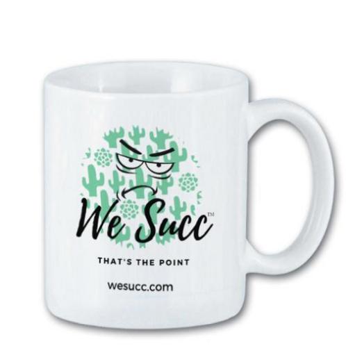 We Succ Coffee Mug