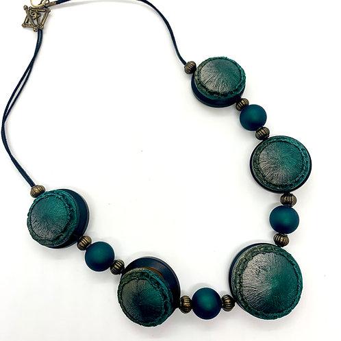 Vintage Button Necklaces