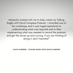 David Campese Testimonial