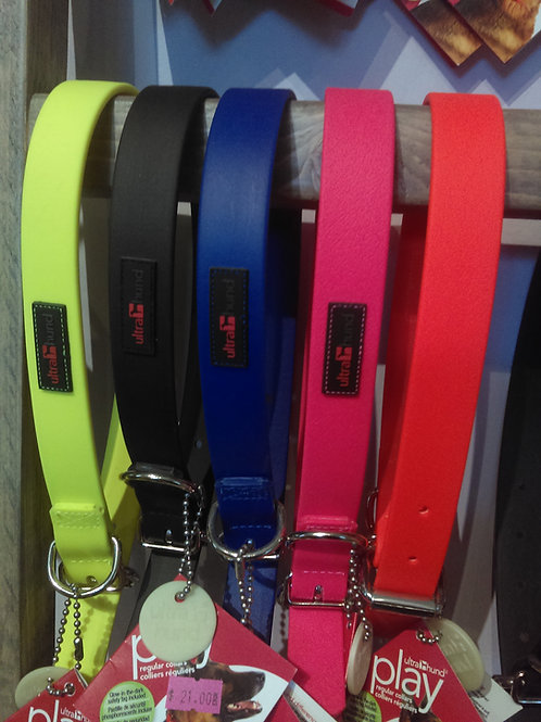 """Ultrahund Collar 1"""" wide (Large - fits 16""""-20"""" neck)"""