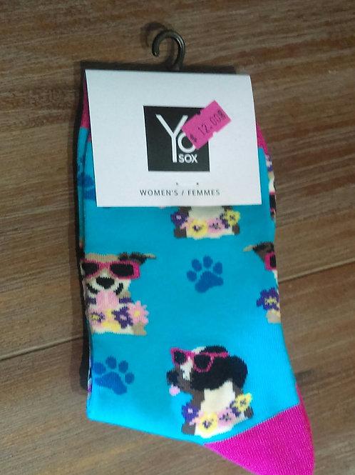 Women's Socks - Cool Dogs