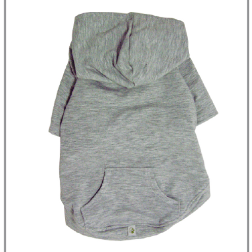 Apple Hoodie Light Grey by Eco Pup