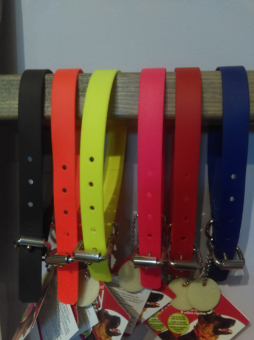"""Ultrahund Collars 3/4"""" wide (small -fits 11""""-14"""" neck)"""