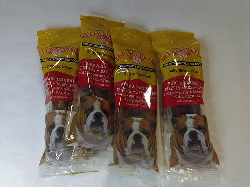 "Bullysticks 5"", 2 per package"