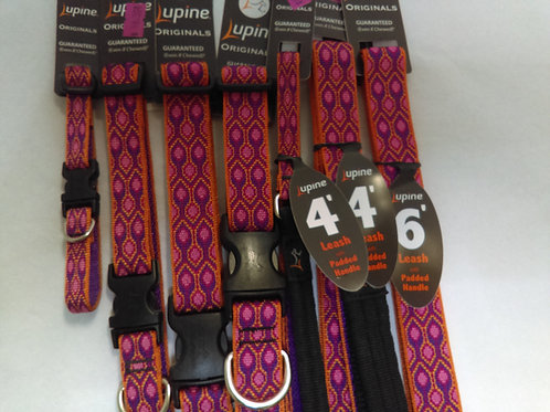 Lupine Collars and Leashes Alpen Glow