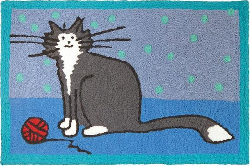 Jellybean Accent Mat Its a Kitty Thing