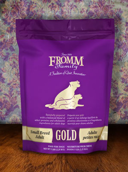 Fromm Small Breed Gold Dog Food 5lb