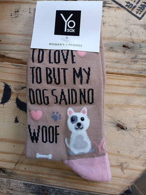 Women's Socks - I'd love to but...