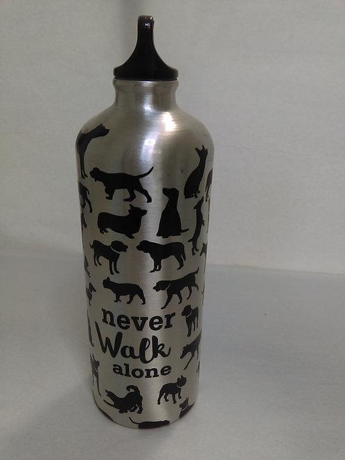 Travel Water Bottle - Never Walk Alone