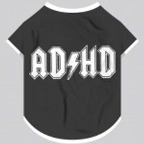 Yellow Hydrant Dog T-Shirt - ADHD