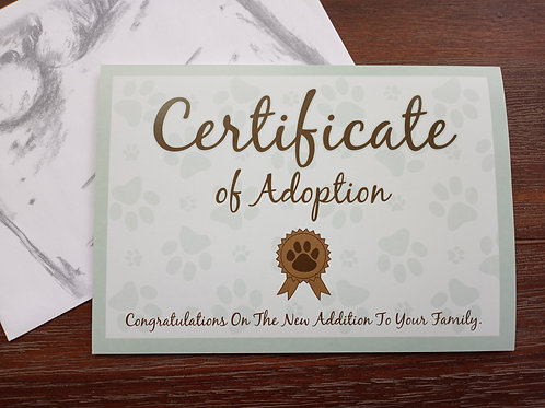 Greeting Card - Congratulations on New Pet