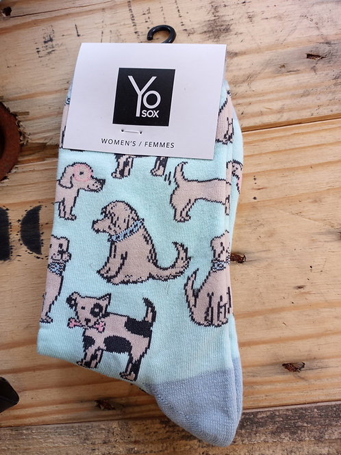 Women's Socks - Doggies