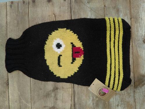 Chilly Dog Emoji Sweater
