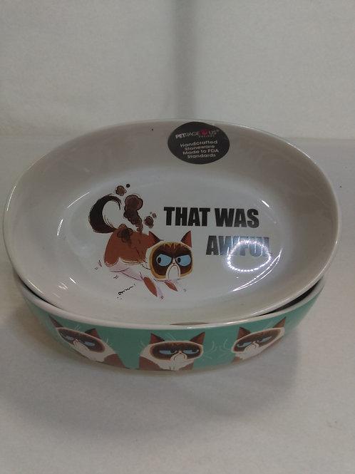 Grumpy Cat Food Bowl - That was Aweful!