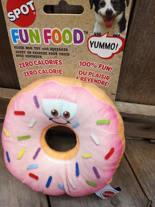 Donut Dog Toy