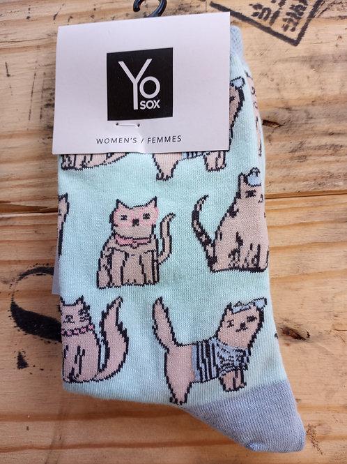 Women's Socks - Kitties