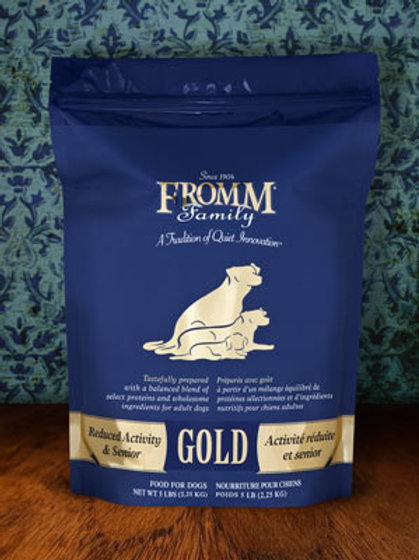 Fromm Reduced Activity / Senior Gold Dog Food 33lb