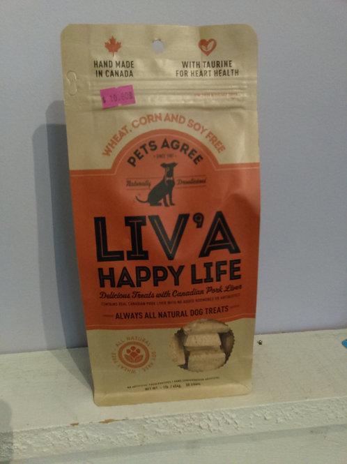 Pets Agree - Liv'a Happy Life Dog Treats 454g