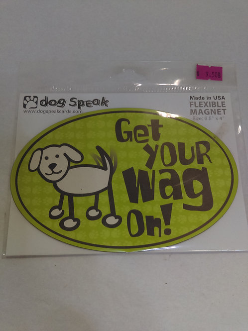 Car Magnet - Get your Wag on