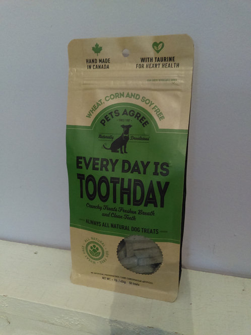 Pets Agree - Every Day is Toothday Dog Treats 454g