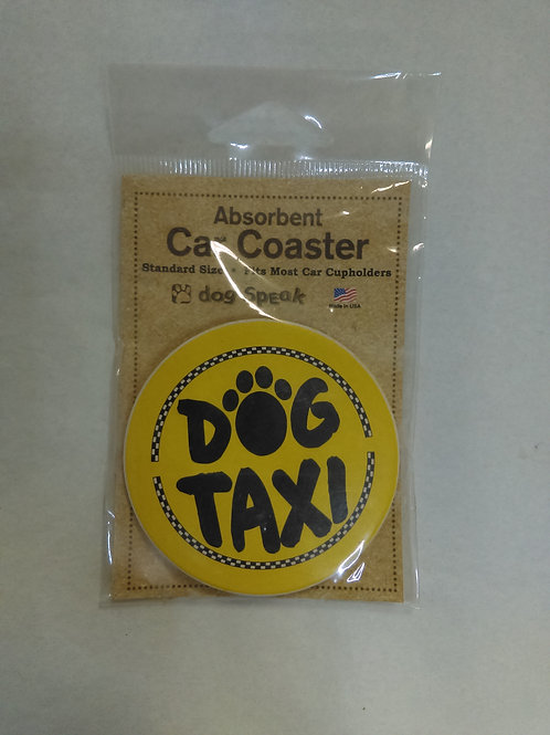Dog Taxi Car Coasters