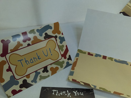 Greeting Card - Thank-you - Blank