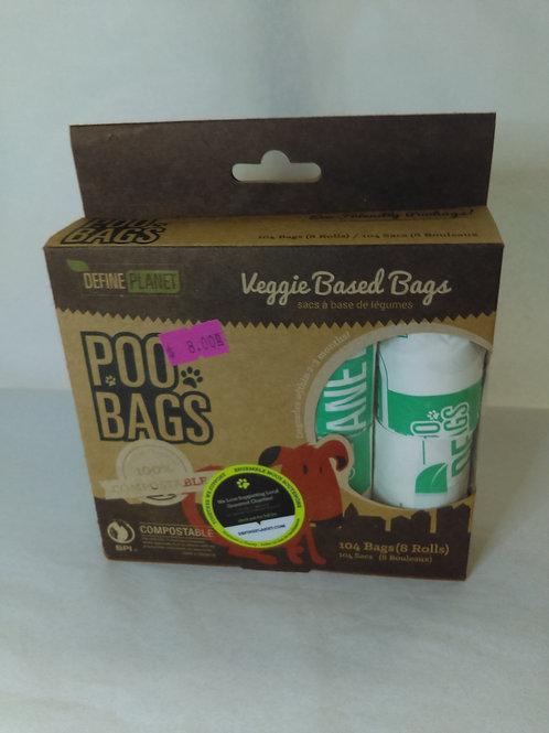 Define Planet Veggie Based Rolled Bags 104