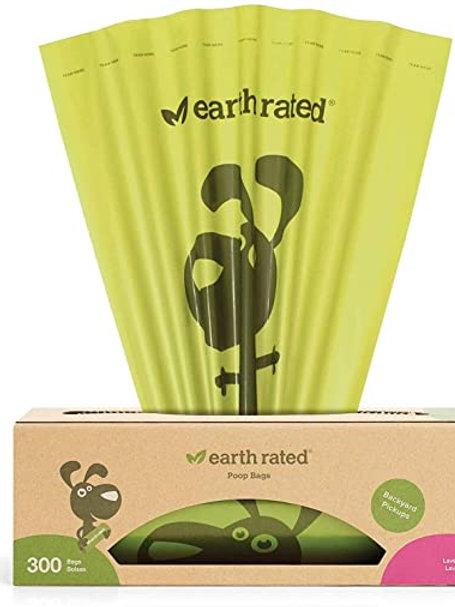 Earthrated Poop Bags  Lavender 300 bags