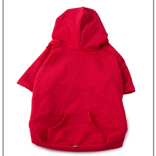 Apple Hoodie Red