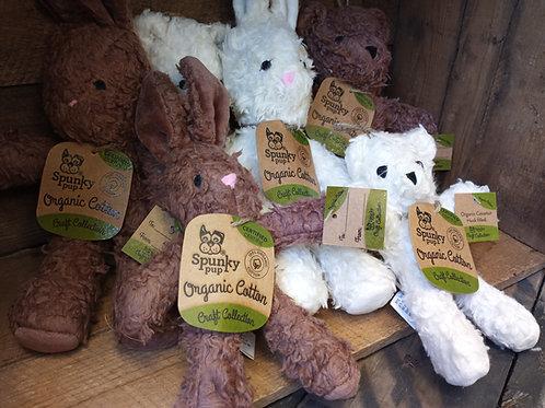 Organic Bunny or Teddy Dog Toy