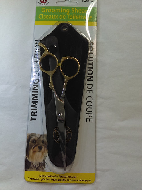"""Miracle Care Straight Grooming Shears 6-1/2"""""""