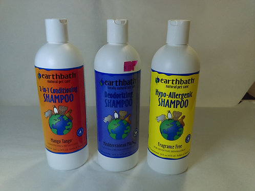 Earthbath Pet Shampoo 472ml