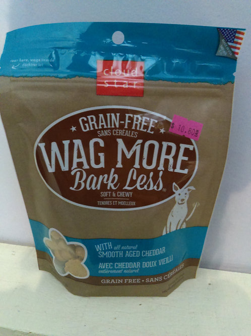Wag More Bark Less Smooth Aged Cheddar 142g