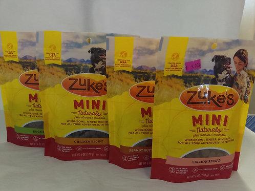 Zukes Mini Dog Treats 170g
