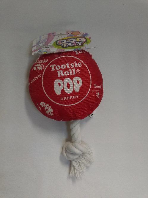 Tootsie Roll Pop Dog Toy