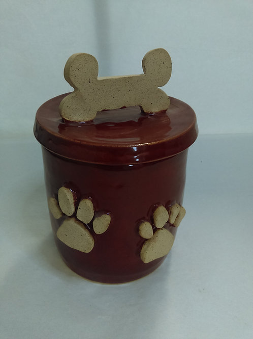 Cookie Jar by Scnortzy's Pottery