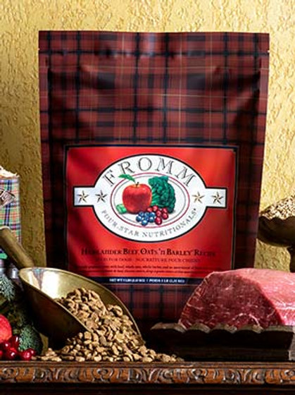 Fromm Highlander Beef, Oats and Barley Dog Food 4lb