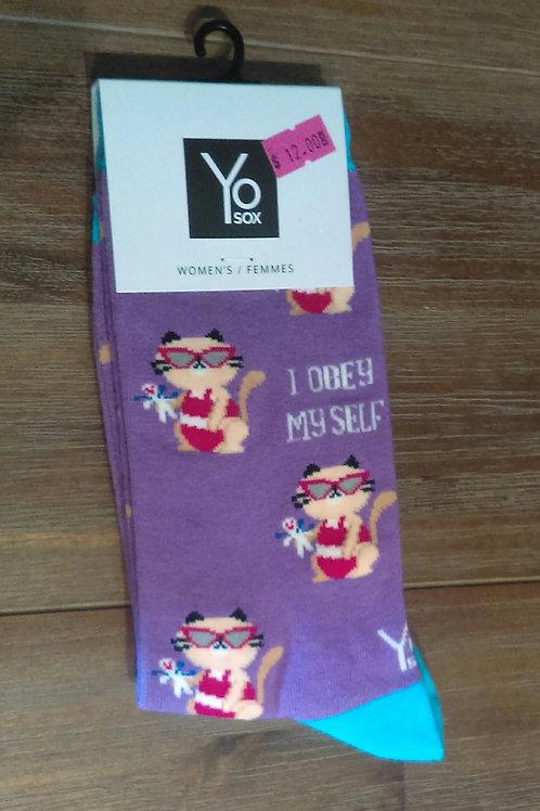 Women's Socks- Cats