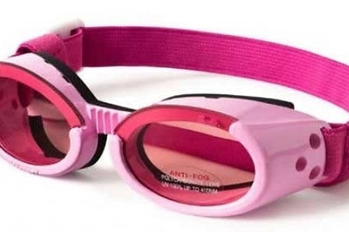 Doggles ILS Protective Eyeware for Dogs Cream with Smoke Lens