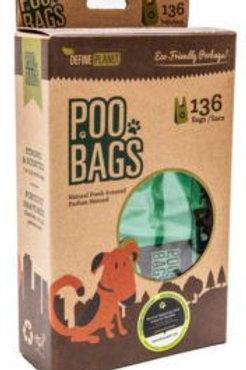 Define Planet T-shirt Style Poop Bags (136 bags)