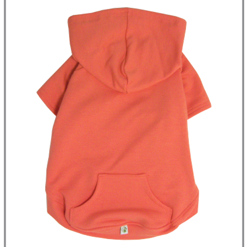 Apple Hoodie Coral by Eco Pup