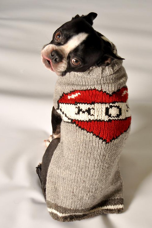 Chilly Dog Mom Tattoo Sweater