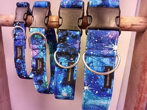 Barkenstein Design Adjustable Collars - Galaxy