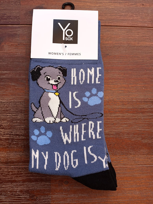 Women's Socks - Home is Where the Dog Is