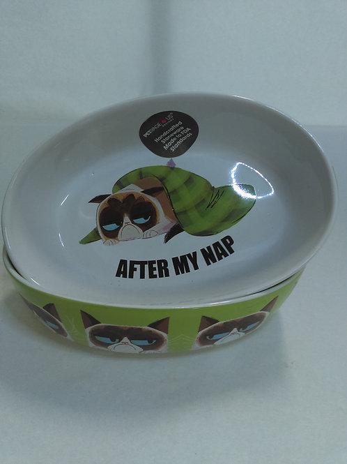 Grumpy Cat Food Bowl - After My Nap