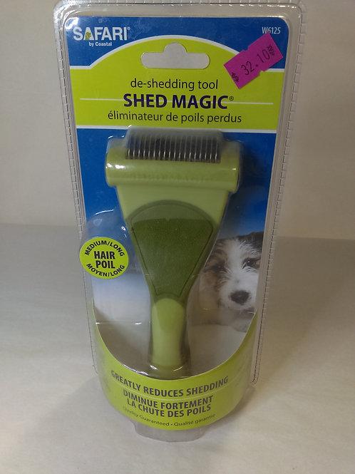 Shed Magic Grooming Rake